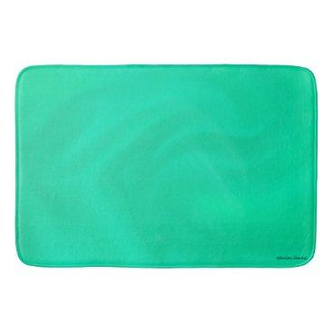 """TabbyHallDesigns """"Sea Glass"""" Bathmat"""