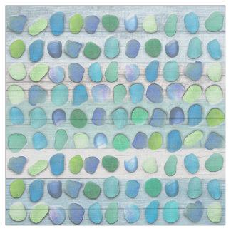 Sea Glass Beach Driftwood Fabric