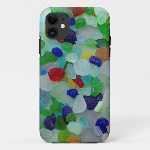 Sea glass, beach glass photo Phone Case