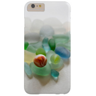 Sea glass, beach marble barely there iPhone 6 plus case