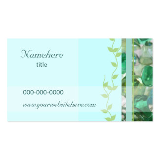 Sea Glass Business Card