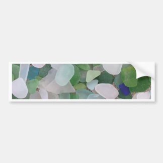 Sea glass from the ocean bumper sticker