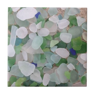 BrookmillHouse Sea glass from the ocean ceramic tile