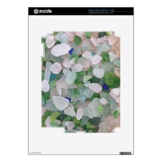 Sea glass from the ocean iPad 2 skin