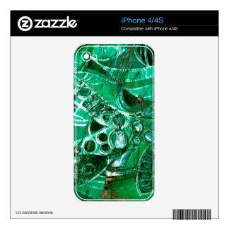 Sea Glass II iPhone 4S Decals