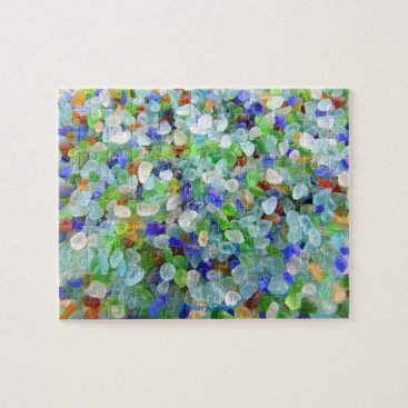 IslandImageGallery Sea Glass Jigsaw Puzzle
