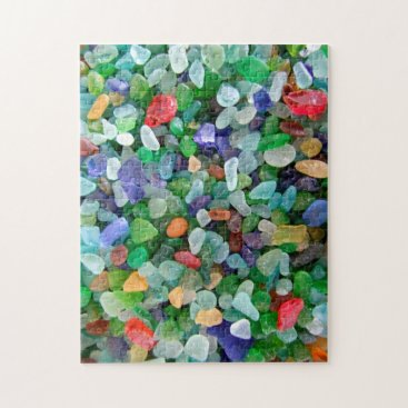 IslandImageGallery Sea Glass Jigsaw Puzzle