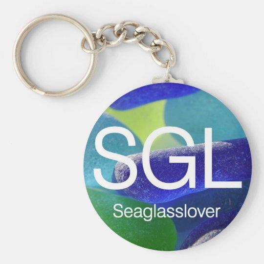 Sea Glass Lover Keychain