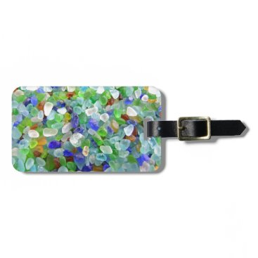 IslandImageGallery Sea Glass Luggage Tag