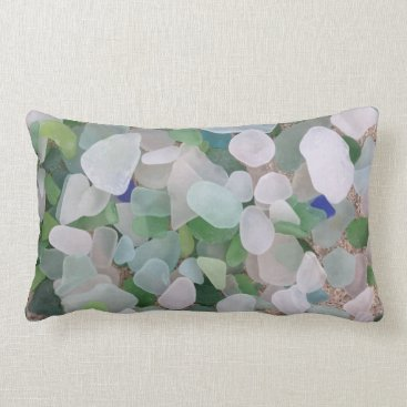 BrookmillHouse Sea glass lumbar pillow