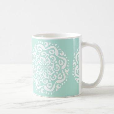 Tekoro Sea Glass Mandala Coffee Mug