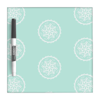Sea Glass Mandala Dry-Erase Board