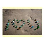 Sea Glass Marble Galore Post Card