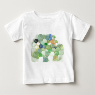 Sea Glass Marbles Baby T-Shirt