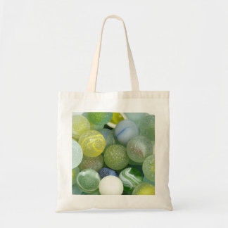 Sea Glass Marbles Budget Tote Bag