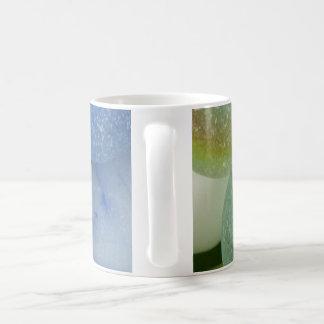 Sea Glass Marbles Classic White Coffee Mug