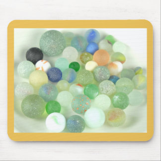 Sea Glass Marbles Mouse Pad
