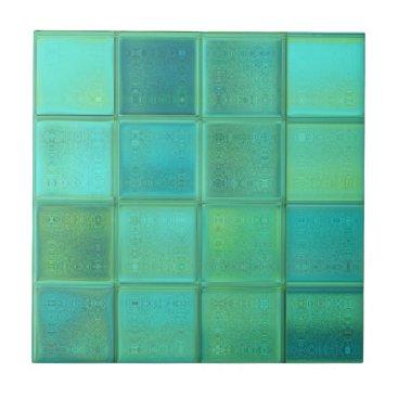 MarieFlorence Sea Glass Mosaic Ceramic Tile