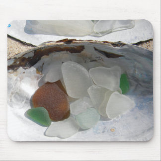 sea glass mouse pad
