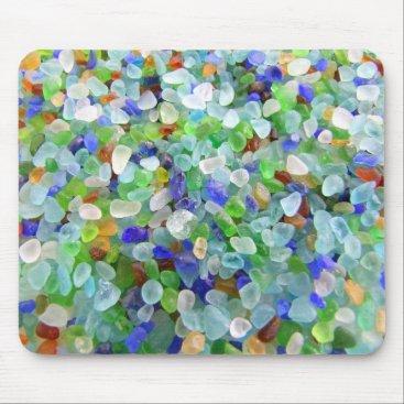 IslandImageGallery Sea Glass Mouse Pad