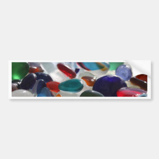 Sea Glass Multi's Bumper Stickers