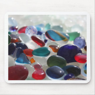 Sea Glass Multi's Mouse Pad