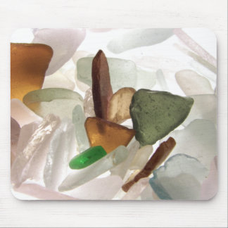 Sea Glass or Beach Glass Mouse Pad