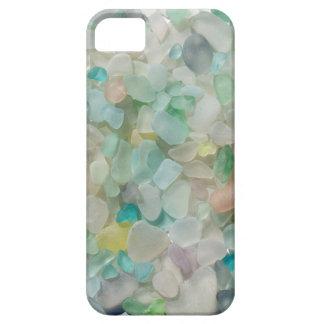 Sea glass pastels, beach glass art photo iPhone 5 cover