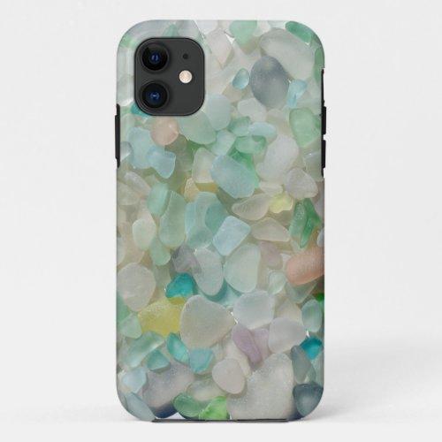 Sea glass pastels, beach glass art photo Phone Case