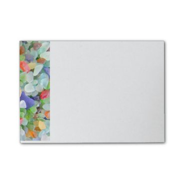 IslandImageGallery Sea Glass Post-it Notes