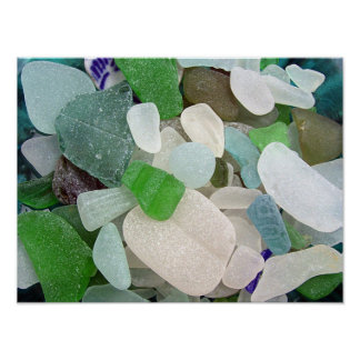 Sea Glass Poster