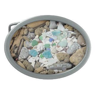 Sea Glass Seashells Belt Buckles custom gifts