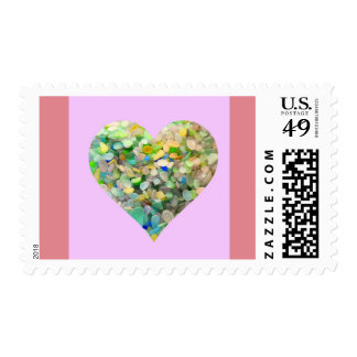 Sea Glass Stamps United States Postal Stamps
