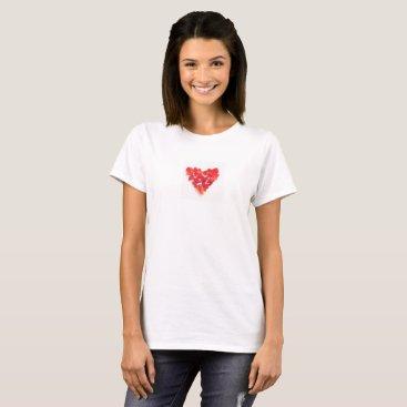 Beach Themed Sea glass T shirt! I Love sea glass T-Shirt