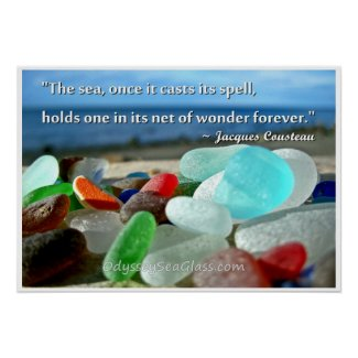 Sea Glass - The Sea Casts It's Spell