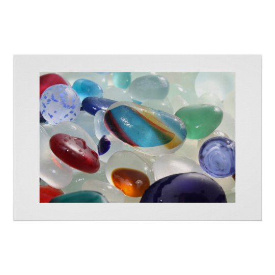 Sea Glass Treasure Poster