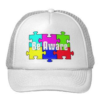 """""""Sea"""" gorras enterados de la conciencia del autism"""