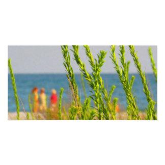 Sea Grasses Photo Card Template