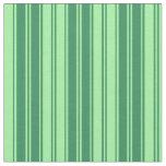 [ Thumbnail: Sea Green and Green Lines Fabric ]