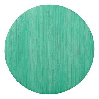 Sea Green Bamboo Wood Grain Look Eraser