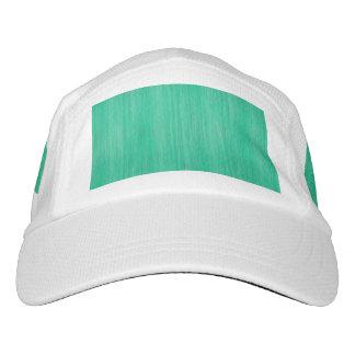 Sea Green Bamboo Wood Grain Look Hat