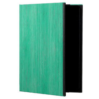 Sea Green Bamboo Wood Grain Look Powis iPad Air 2 Case