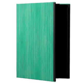 Sea Green Bamboo Wood Grain Look Powis iPad Air 2 Case