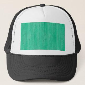 Sea Green Bamboo Wood Grain Look Trucker Hat