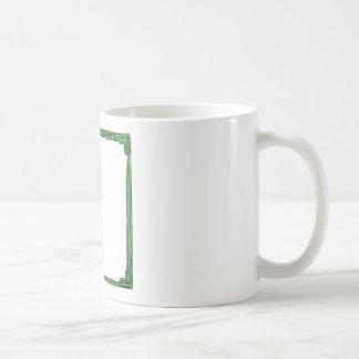 Sea Green Border Image / Text Holder Coffee Mug