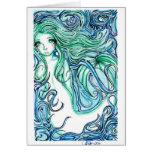 Sea Green Card