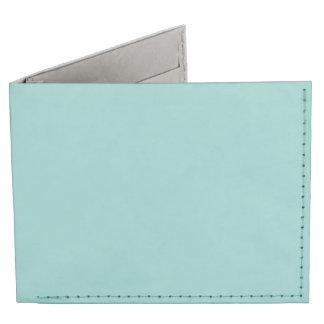 Sea Green Billfold Wallet
