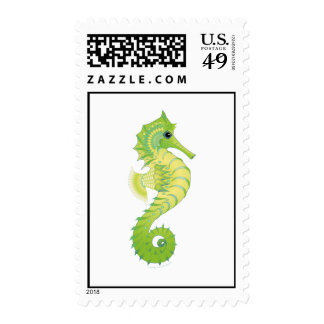 Sea Green Filly Postage Stamp