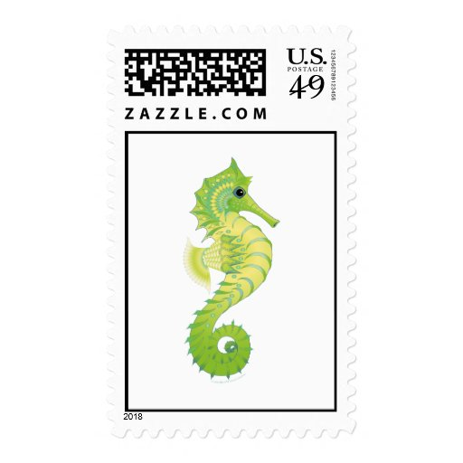 Sea Green Filly Stamp