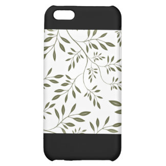 Sea Green floral wedding gift Case For iPhone 5C